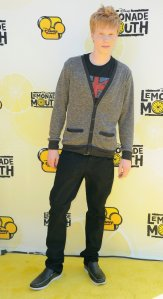 """Actor Adam Hicks arrives to the premiere of Disney Channel's """"Lemonade Mouth"""" at Stevenson Middle School on April 12, 2011 in Los Angeles. (Credit: Alberto E. Rodriguez/Getty Images)"""