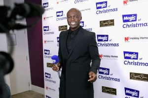 Seal is interviewed backstage at Magic FM's Magic of Christmas concert at London Palladium on Nov. 26, 2017. (Credit: John Phillips / Getty Images)