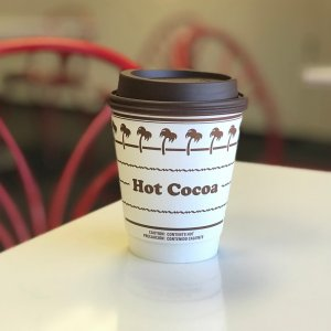 In-N-Out Burger is now serving hot cocoa -- with marshmallow -- on its menu. (Credit: In-N-Out)
