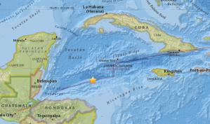 A magnitude 7.6 earthquake struck off of Honduras on Jan. 9, 2018. (Credit: U.S. Geological Survey)