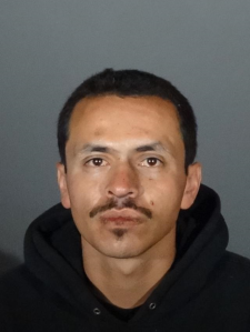 Rafael Lopez, 27, is seen in a booking photo from Feb. 20, 2018, released by the Huntington Park Police Department.