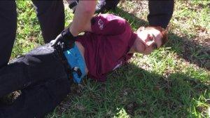 Photo of Suspect Nikolas Cruz from the Florida high school shooting. (Credit: WPTV)