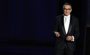 Robin Williams speaks on stage during the 65th Annual Primetime Emmy Awards held at Nokia Theatre L.A. Live on Sept. 22, 2013, in Los Angeles. (Credit: Kevin Winter/Getty Images)