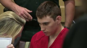 Nikolas Cruz appears on court in Fort Lauderdale, Florida, on Feb. 19, 2018. (Credit: CNN)