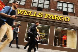 """The Fed handed down unprecedented punishment for what it called Wells Fargo's """"widespread consumer abuses,"""" including its notorious creation of millions of fake customer accounts. (Credit: Getty via CNN)"""