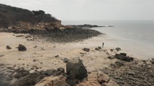 A view of the beach where Unit 684 recruits lived and trained for three years on Silmido until they staged a bloody mutiny on Aug. 23, 1971, and killed 18 of their trainers. (Credit: CNN)