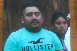 The GoFundMe campaign said that the couple had just dropped off their daughter at school and were on their way to look for work when the deportation officers attempted to stop them. (Credit: GoFundMe)