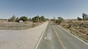 The intersection of Deep Creek and Cornelian roads is seen in this Google Maps image.
