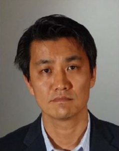 Dong-Hyun Huh is seen in a booking photo released by the L.A. County Sheriff's Department on March 7, 2018.