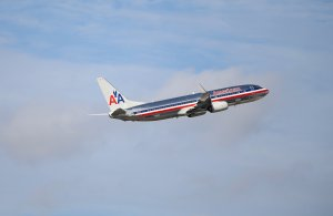 In this file photo, an American Airlines plane takes off from the Miami International Airport on November 12, 2013. (Credit: Joe Raedle/Getty Images)