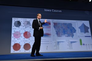 CEO of Cambridge Analytica Alexander Nix speaks at the Concordia Summit at Grand Hyatt New York on Sept. 19, 2016. (Credit: Bryan Bedder / Getty Images)