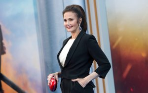 Actress Lynda Carter attends the world premiere of 'Wonder Woman' at the Pantages on May 25, 2017 in Hollywood. (Credit: VALERIE MACON/AFP/Getty Images)