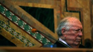 Judge Stephen Reinhardt served on the U.S. 9th Circuit Court of Appeals before his death on March 29, 2018. (Credit: Robert Gauthier / Los Angeles Times)