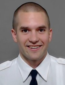 Officer Brian McDaniel is seen in a photo released by Dallas Fire-Rescue. (Credit: Associated Press via CNN)