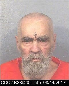 Charles Manson is seen in an Aug. 14, 2017, photo from the California Department of Corrections and Rehabilitation.