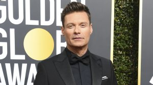 Ryan Seacrest arrives for the 75th Annual Golden Globe Awards on Jan. 7, 2018, in Beverly Hills. (Credit: Valerie Macon/AFP/Getty Images)