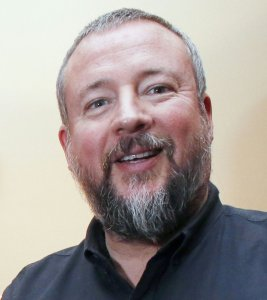 Founder and CEO of Vice, Shane Smith, poses on March 10, 2016, in Paris. (Credit: MATTHIEU ALEXANDRE/AFP/Getty Images)
