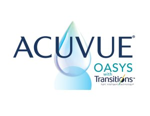 The packaging for Acuvue Oasys contact lenses with Transitions technology is seen in a photo released April 11, 2018, by Johnson & Johnson Vision.
