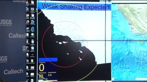 Some received about a 10 seconds heads-up ahead of Thursday's 5.3 earthquake. (Credit: KTLA)