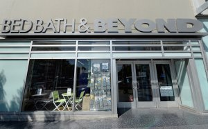 Sign at a Bed Bath & Beyond store on April 10, 2013 in Los Angeles, California. (Credit: Kevork Djansezian/Getty Images)
