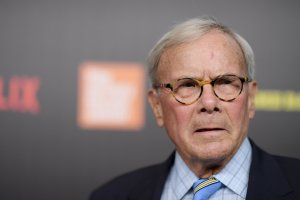 "Tom Brokaw attends the ""Five Came Back"" world premiere in New York City on March 27, 2017. (Credit: Mike Coppola / Getty Images)"