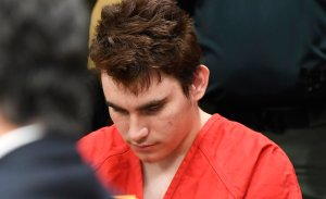 Nikolas Cruz appears in Broward Courthouse in Fort Lauderdale, Florida on April 11, 2018. (Credit: Taimy Alvarez-Pool/Getty Images)