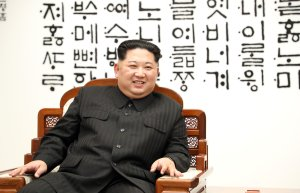 North Korean leader Kim Jong Un attends the Inter-Korean Summit on April 27, 2018 in Panmunjom, South Korea. (Credit: Korea Summit Press Pool/Getty Images)