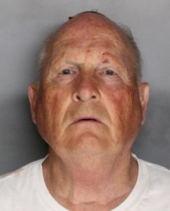 The booking photo for Joseph James DeAngelo, the suspected Golden State Killer, was released by the Sacramento County Sheriff's Department on April 25, 2018.