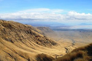 The Rift Valley in East Africa is seen in an undated photo. (Credit: Shutterstock via CNN)