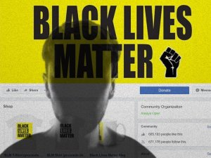 A page purporting to be for Black Lives Matter is fake, according to CNN. (Credit: Shutterstock/CNN Money)