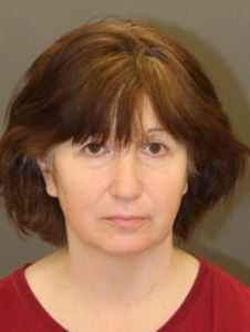 Jill Blackstone is seen in a booking photo released April 12, 2018, by Los Angeles police.