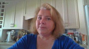 Jennifer Carole Smith speaks to KTLA via Skype on April 25, 2018.