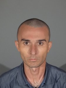 Robert Art Abalov is seen in a booking photo released May 30, 2018, by the Santa Monica Police Department.