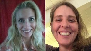 Jacki Stevens, left, is seen in an undated image posted to Psychology Today's website, and Katherine Brazeau is seen in a photo posted to her Facebook page on Feb. 16, 2018.