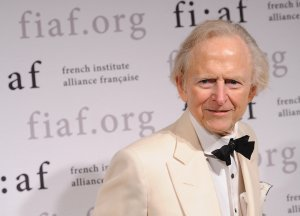 Author Tom Wolfe attends the 2012 Trophee Des Arts Gala at The Plaza Hotel on November 30, 2012 in New York City. (Credit: Fernando Leon/Getty Images)