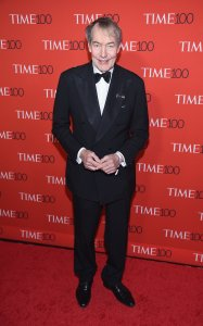 Charlie Rose attends the 2017 Time 100 Gala at Jazz at Lincoln Center on April 25, 2017 in New York City. (Credit: Dimitrios Kambouris/Getty Images for TIME)