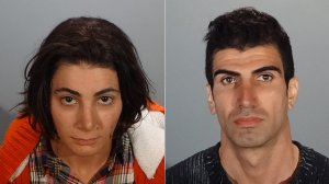 Selin Charmaholi, left, and Sergey Charmaholi, right, are shown in photos released by the Glendale Police Department on May 30, 2018.