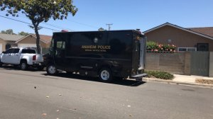 An Anaheim police vehicle is seen on June 11, 2018. (Credit: Anaheim Police Department)