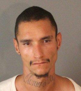 Aaron Allen Aubrey, 24, is seen in a booking photo released June 21, 2018, by the Riverside Police Department.