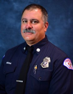 Long Beach Fire Chief Dave Rosa is seen in a photo released June 25, 2018, by the Long Beach Fire Department.