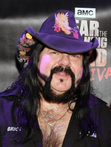 Vinnie Paul attends the Fear the Walking Dead Survival attraction grand opening in Las Vegas on Aug. 29, 2017. (Credit: Ethan Miller/Getty Images)