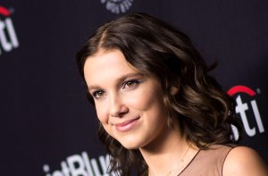 Actress Millie Bobby Brown attends The 2018 PaleyFest screening of Netflix's 'Stranger Things' at the Dolby Theater on March 25, 2018, in Hollywood. (Credit: VALERIE MACON/AFP/Getty Images)