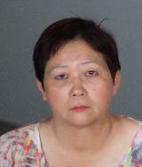 Helen Law is seen in a booking photo released June 13, 2018, by the Alhambra Police Department.