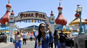 Pixar Pier will be opened Friday to VIP guests who are willing to pay $299 for a six-hour premiere party. (Credit: Jay L. Clendenin / Los Angeles Times)