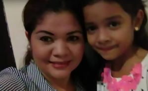 Cindy Valencia, left, and her daughter, Alisson Jimena Valencia Madrid, are seen in an undated Facebook photo obtained by CNN.