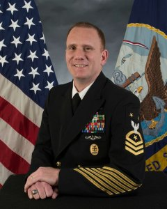 Master Chief Petty Officer Steven Giordano is shown in a photo released by the U.S. Navy on June 21, 2018.