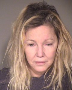 Heather Locklear is seen in a booking photo released June 25, 2018, by the Ventura County Sheriff's Department.