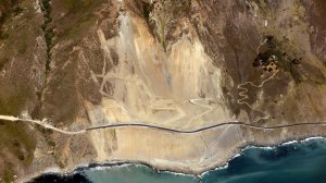 An image of Highway 1 is seen in a post on the Big Sur Information Facebook page.