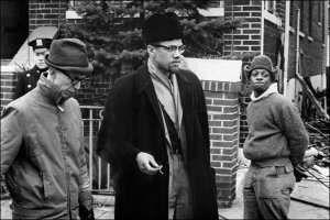 Malcolm X, civil rights leader and scholar, is seen in an undated photo. (Credit: STF/AFP/Getty Images)