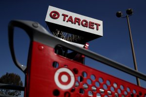 A sign is posted outside of a Target store on February 28, 2017 in South Gate. (Credit: Justin Sullivan/Getty Images)